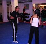 george Scott studiebesök boxningsklubb